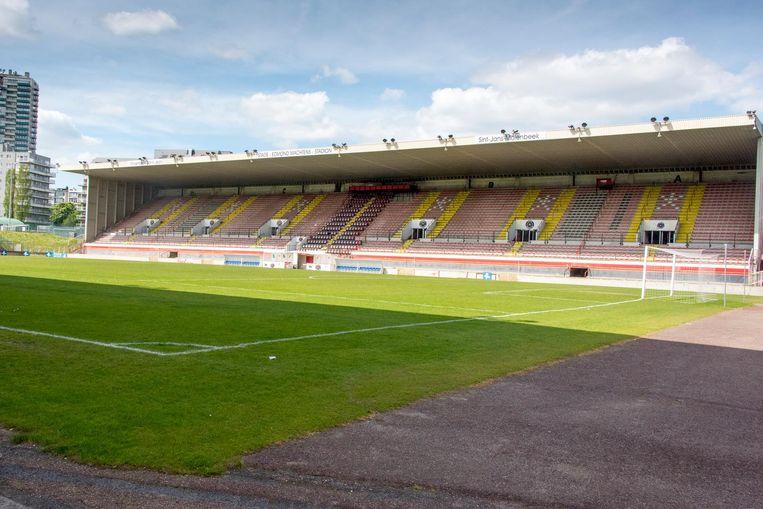 Het Edmond Machtensstadion, waar White Star nu niet meer welkom is.