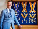DEN HAAG - Generaal-majoor b.d. H. Morsink is Kanselier der Nederlandse Orden en voorzitter van het Kapittel van de Militaire Willems-Orde.