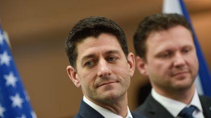 Gevoelige slag voor Republikeinen: Paul Ryan houdt ermee op