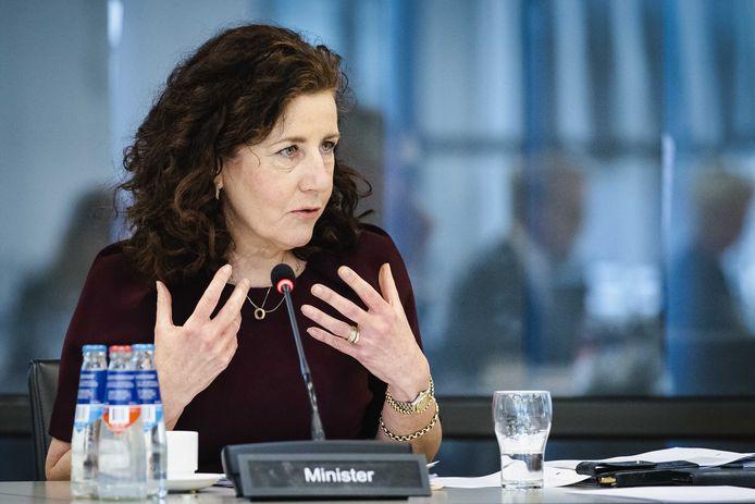 Ingrid van Engelshoven, demissionair minister van Onderwijs, Cultuur en Wetenschap