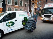 Bevoorrading Bossche binnenstad op de schop: elektrische piramide ziet niet of er elektrische bestelauto of vieze diesel voorbij rijdt