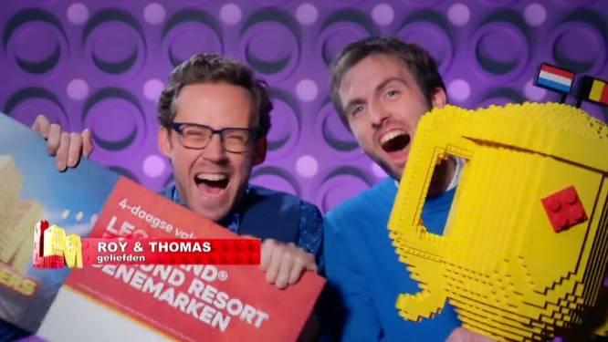 Thomas en Roy winnen 'LEGO Masters 2021' en 25.000 euro