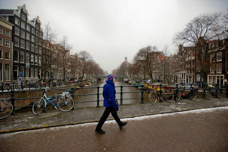 Het is op dit moment een rommeltje bij de Vereniging Vrienden van de Amsterdamse Binnenstad. Beeld Hollandse Hoogte /  ANP