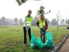 Sjaak ruimt op tijdens World Cleanup Day: strips van 'uppers en downers' naast elkaar in het gras