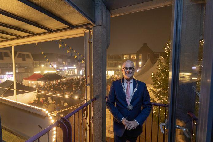 In Borne genoot waarnemend burgemeester Gerard van den Hengelo begin vorig jaar van de gezellige nieuwjaarsreceptie.