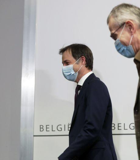 De l'électricité dans l'air lors du Codeco: Vandenbroucke a-t-il snobé la conférence de presse?