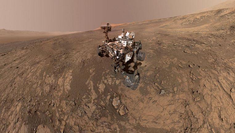 Landen op Mars. Beeld reuters