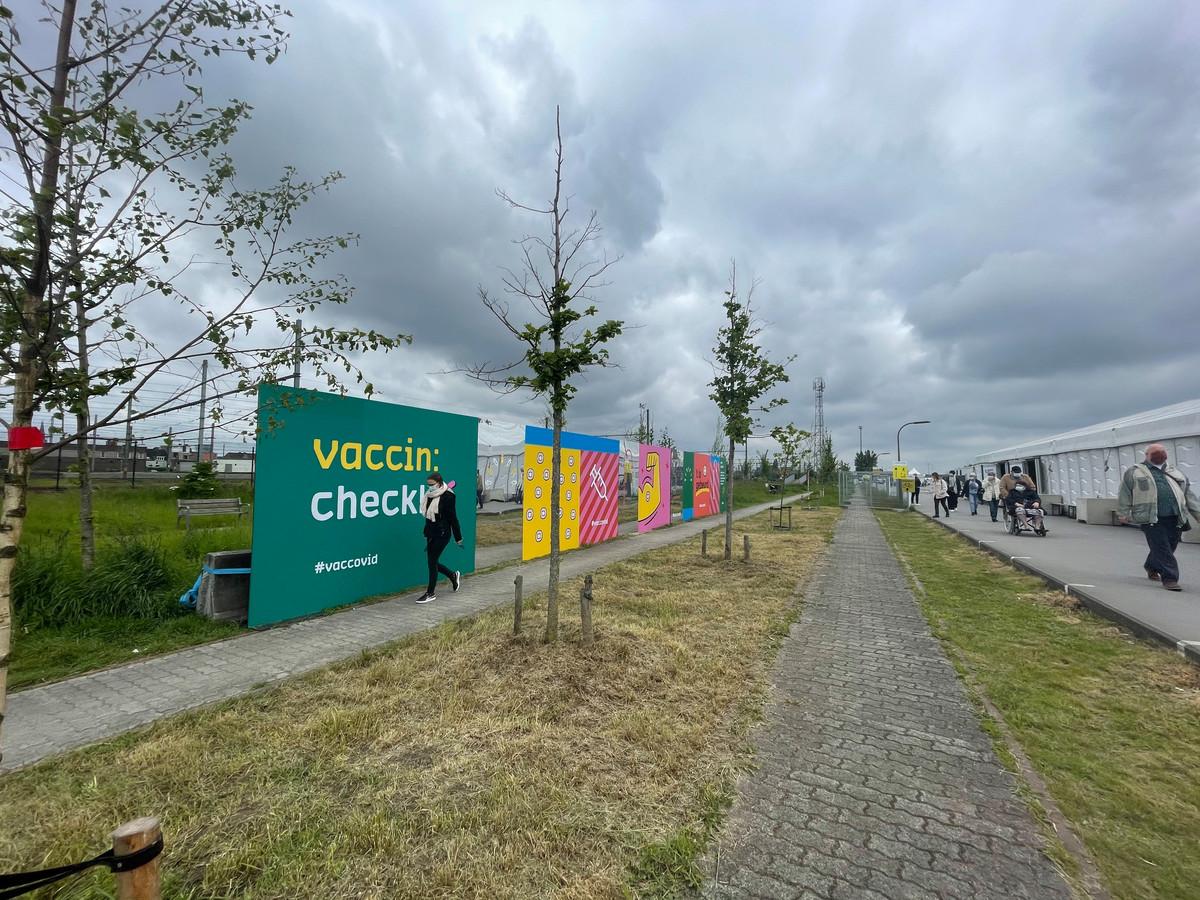 VacCovid op Park Spoor Oost.