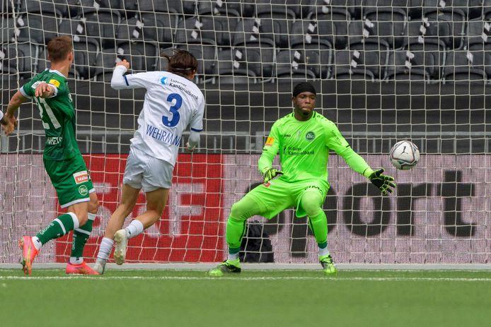 Jordy Wehrmann maakte de 2-0 in de Zwitserse bekerfinale.