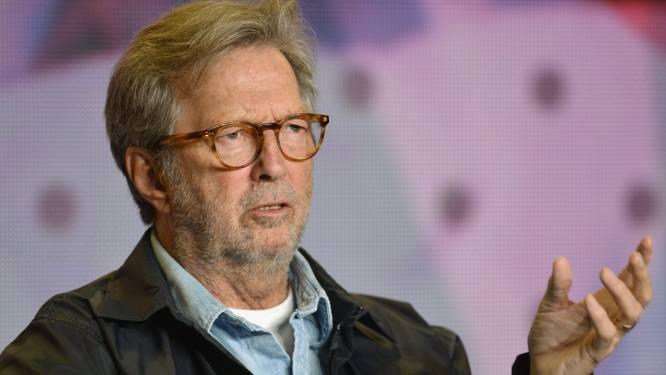 Eric Clapton doneert 1.200 euro aan band die coronamaatregelen negeerde