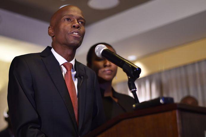 De Haïtiaanse president Jovenel Moïse.