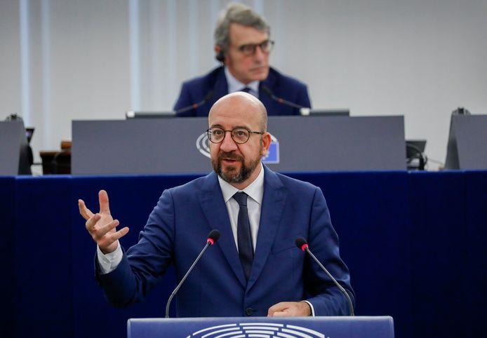 Charles Michel is voorzitter van de Europese Raad.