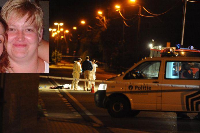 Een koppeltje botste op het lichaam van Peggy aan de Rotselaarsebaan in Holsbeek.