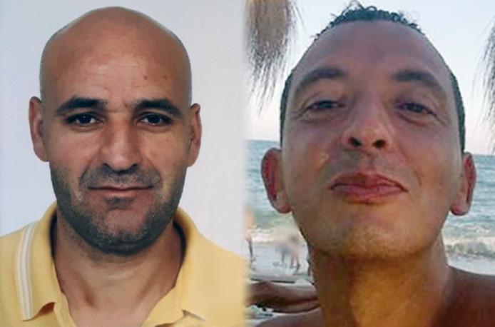 Saïd Razzouki (l) en Ridouan Taghi.