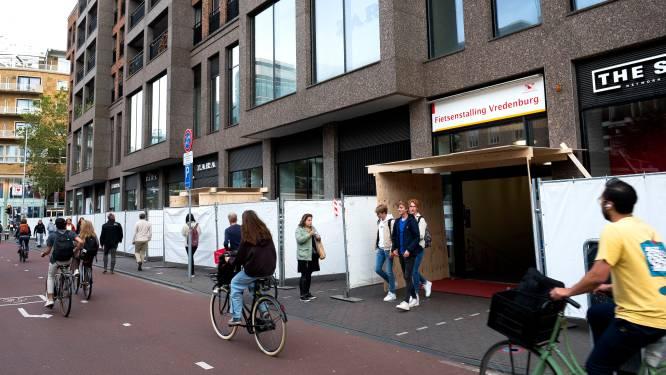 Kust is veilig! Hekken weer weg bij gebouw Vredenburg dat afbrokkelde tijdens Unmute Us