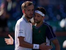 Surprise à Indian Wells: Daniil Medvedev éliminé en huitièmes de finale par Grigor Dimitrov