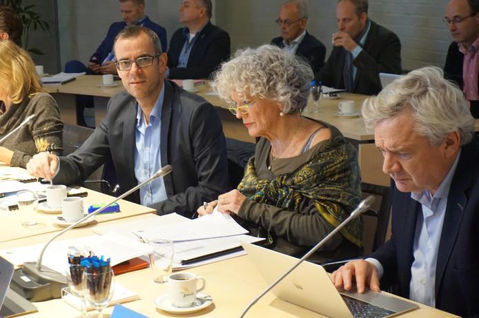 De fractie van het CDA tijdens de begrotingsbehandeling.