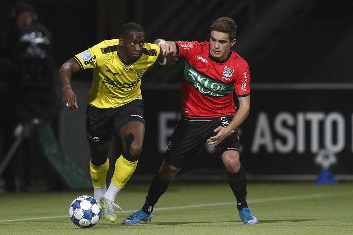 Gisteravond werd NEC in de kwartfinale uitgeschakeld door VVV-Venlo (1-2).