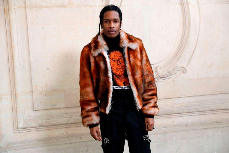 A$AP Rocky.  Beeld AFP