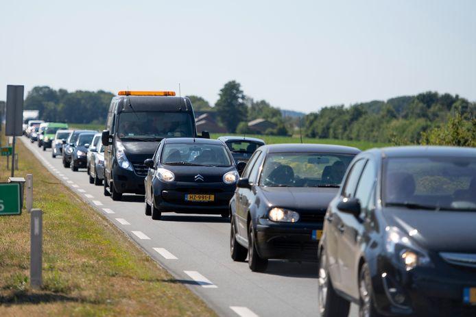 De verbreding van de N35 moet de filedruk tussen Wierden en Nijverdal wegnemen.