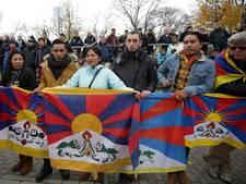 Tibetaanse protesten houden China onder 20 jaar weg uit Duitsland