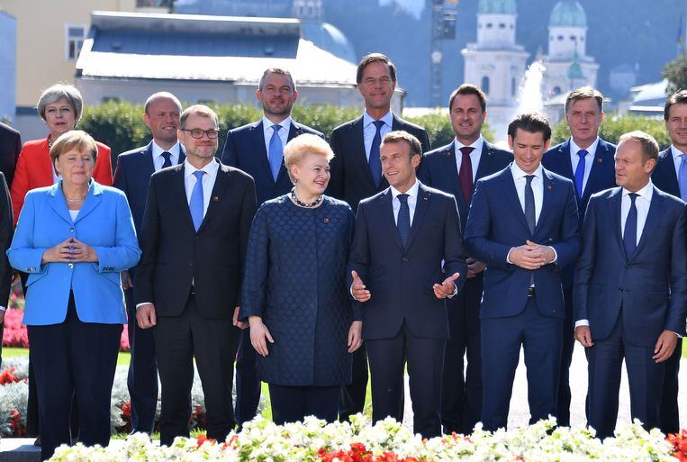 Rutte is one of them. Beeld AFP
