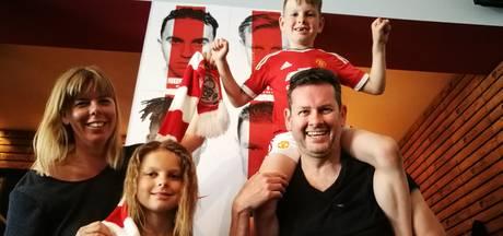 Manchester- Ajax splijt Amsterdams gezin
