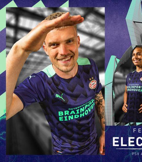 Het nieuwe uitshirt van PSV voor komend seizoen is bekend