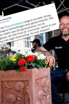 Zutphense kroegbaas die dichtging door corona-uitbraak over tweet Baudet: 'Staat haaks op wat ik bedoel'