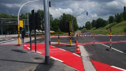 Kruispunt N50-R8 gaat vrijdagmiddag weer open