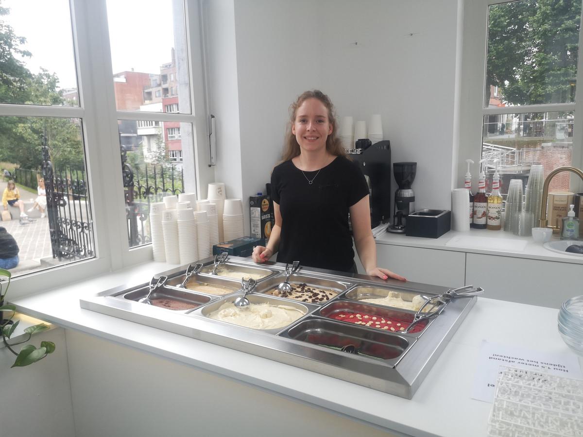 Jade in The Dough Bar in Mechelen