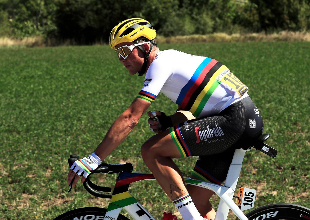 De huidige wereldkampioen: Mads Pedersen.