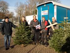 Hulp voor gedupeerde Baarnse kerstboomverkopers stroomt binnen