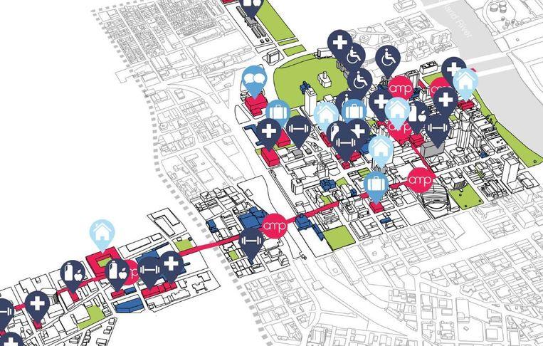 Volgens Decker is het de essentie van een inclusieve stad om een eenvoudige connectie te kunnen maken tussen autismegerelateerde diensten.