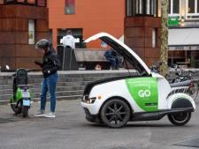 Auto of scooter delen? Graag, maar eigen auto gaat niet de deur uit