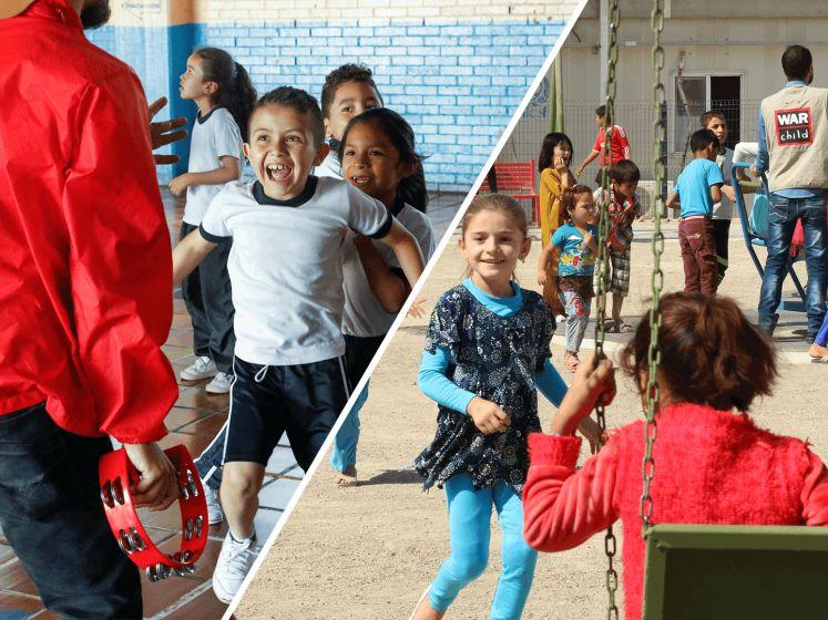 BN'ers delen hun oorlogsverhaal voor War Child