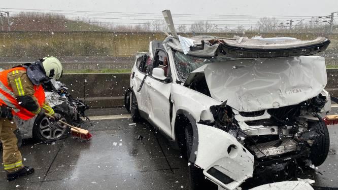 Twee wagens betrokken bij ongeval op E19: slachtoffer zwaargewond
