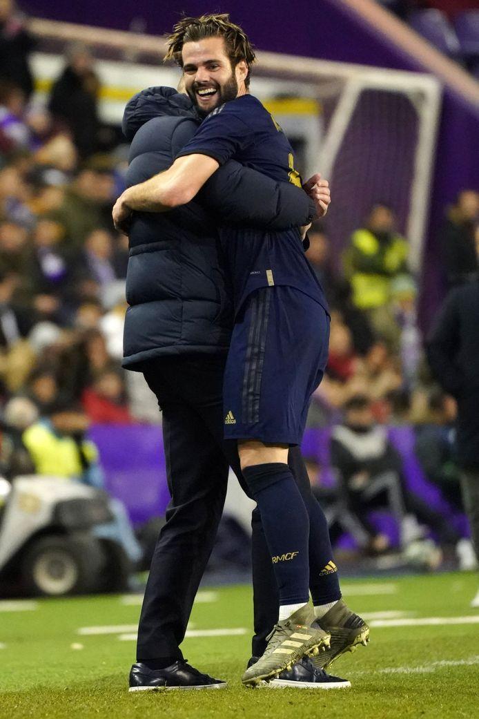 De Koninklijke kan scoren in periodes van zwak spel. Dat deed Nacho tegen Valladolid.