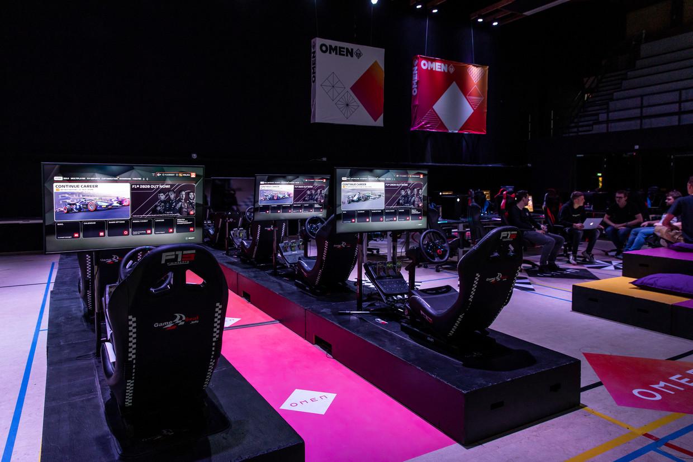 De H20 Esports Campus in Purmerend; de opleidingsplek moet het Papendal van de e-sports worden.   Beeld Dingena Mol