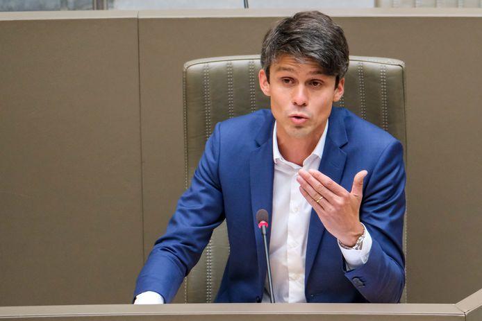 Minister Benjamin Dalle komt