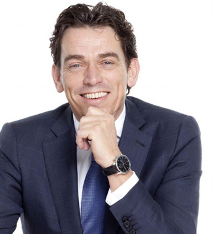 Eneco-baas Ruud Sondag. Hij treedt straks af bij het Rotterdamse energiebedrijf, maar blijft wel verbonden als senior adviseur.