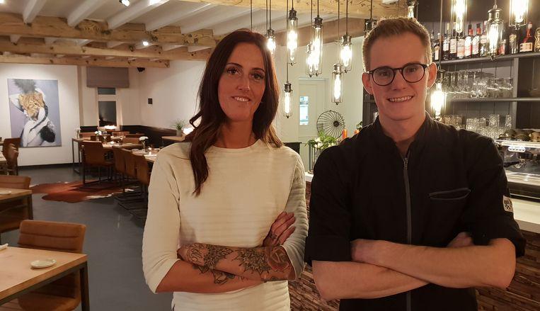 Ellen en Tim Moeskops van restaurant Ambacht.