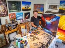 Schilderij van Gerry uit Wierden kost 150 euro: 'Als iemand er maar hetzelfde gevoel bij heeft als ik'
