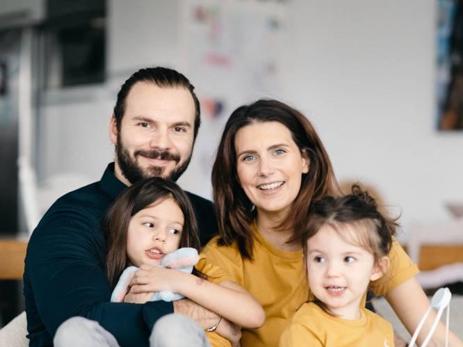 """INTERVIEW. Lara Switten (34), mama van drie en zwaar ziek, laadt op bij haar gezin: """"Ik heb één procent kans op genezing. Daar hou ik me aan vast"""""""