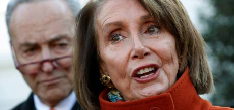 Boze partijleidster van Democraten trapt Trump verbaal in zijn ballen