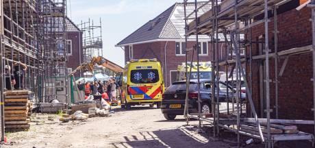 Bedrijfsongeval in bouwplaats Vathorst, traumahelikopter is ter plaatse