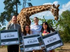 Doutzen Kroes prijst rolmodellen natuur in Burgers' Zoo