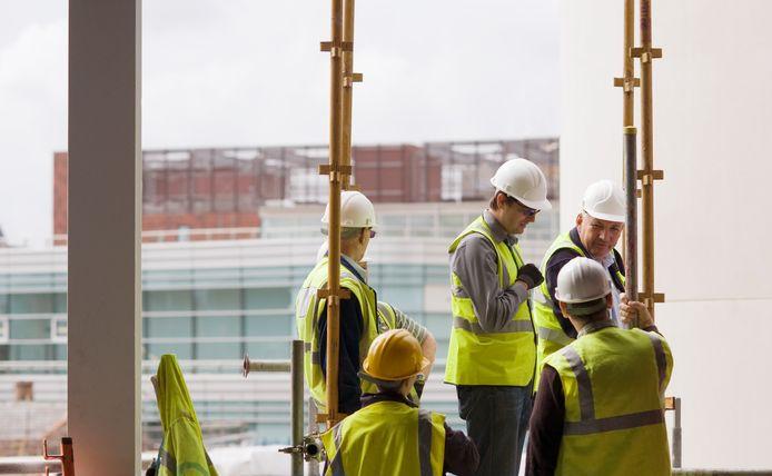 Een job in de bouw: aardig loon maar hard werk