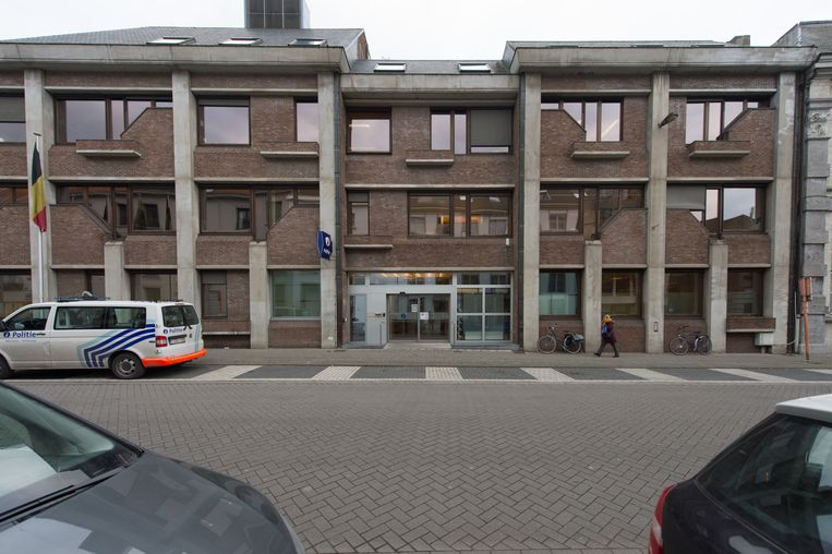 Het politiecommissariaat in Mechelen.