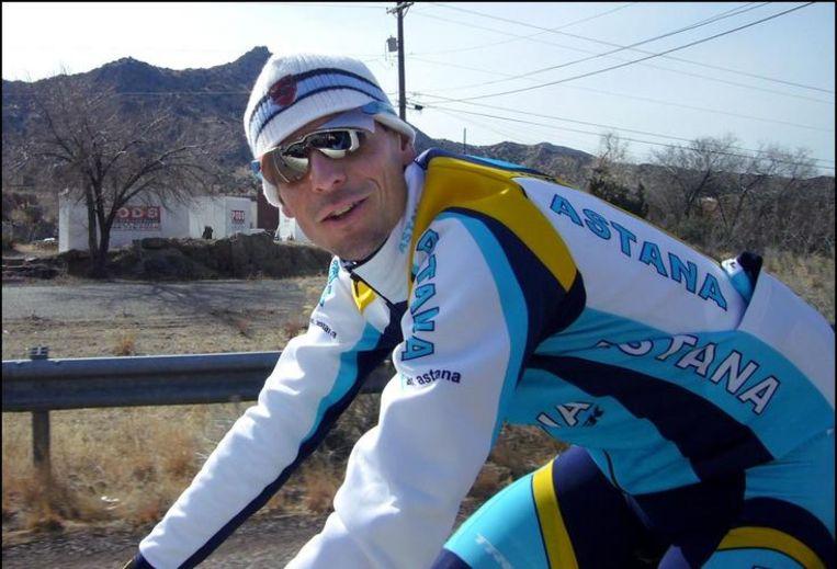 Andreas Klöden heeft zijn zinnen gezet op de Ronde van Romandië. Beeld UNKNOWN
